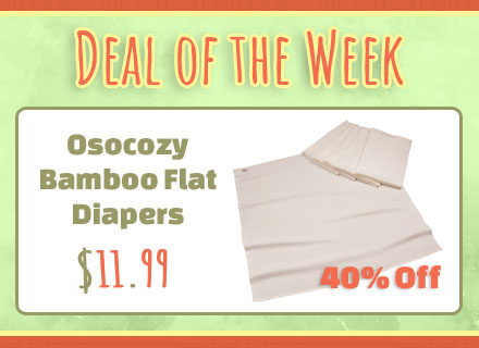 Deal of the week 40% OsoCozy Bamboo Organic Flats
